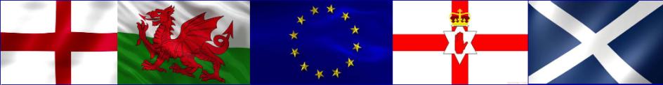 Northern Ireland, Wales, EU, England, Scotland
